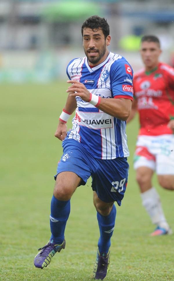 Ronchetti marcó dos goles en el último torneo con Cartaginés.   MARCELA BERTOZZI