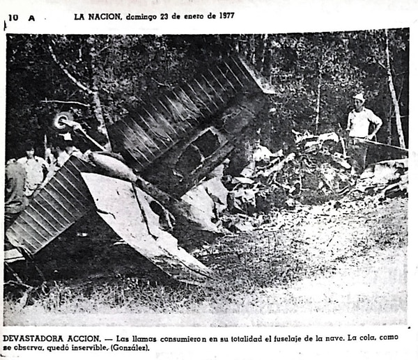 El accidente en Desamparados dejó seis muertos, incluyendo al piloto Fernando Hidalgo y Carlos Fernando Cruz, propietario de la empresa Aerovías del Valle, dueña de la nave.