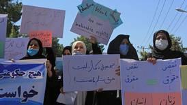 Los talibanes prohíben las manifestaciones en Afganistán