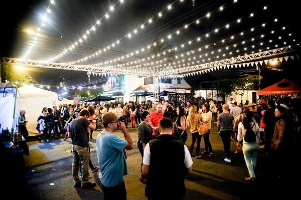 El Festival Gastronómico La Luz ha celebrado varias ediciones en barrio Escalante.