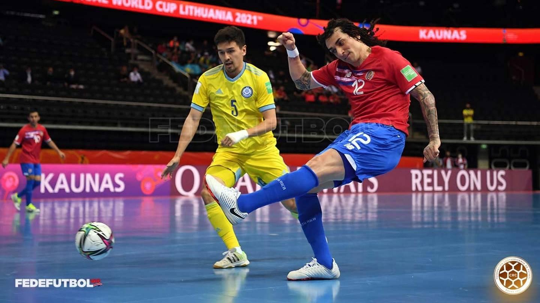 Costa Rica - Kazajistán, mundial futsal Lituania