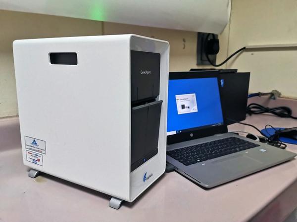 El equipo GeneXpert está en capacidad de dar más respuesta en cuestión de 45 minutos a una hora. Fotografía: CCSS