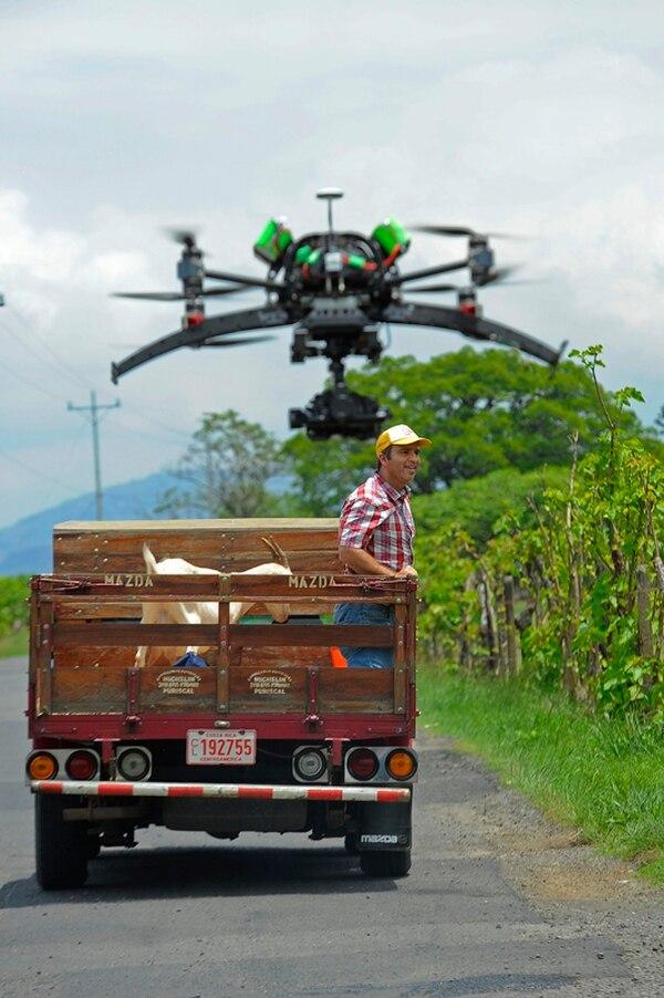 Maikol Yordan fue grabado por una cámara aérea. | MAYELA LÓPEZ.