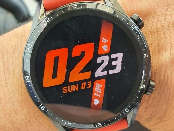 Huawei regala este reloj inteligente Watch GT 2 de 46 mm con el Pro.