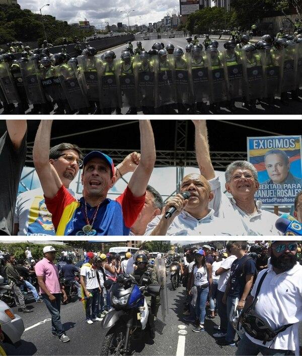 Maduro se dice