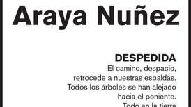 Franklin Araya Nuñez