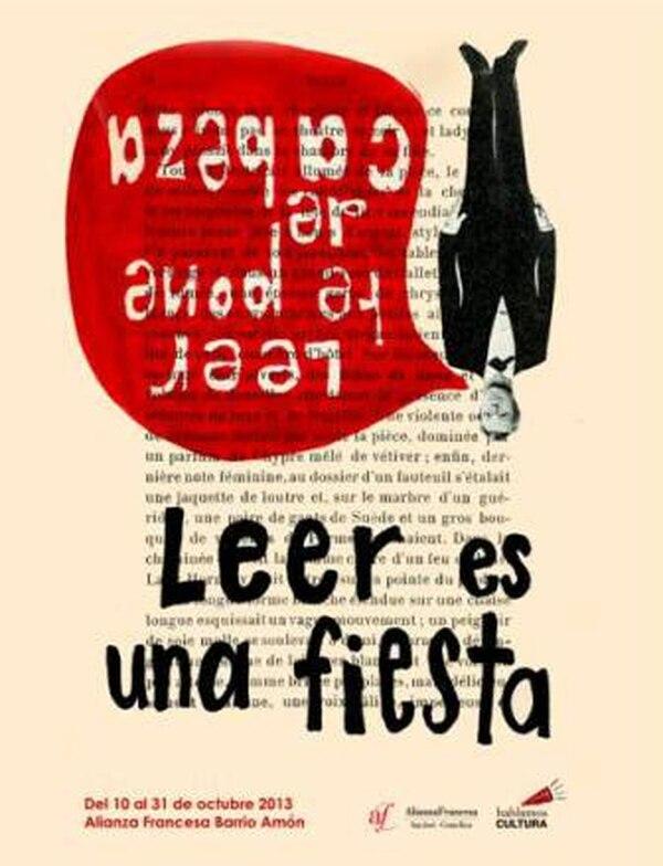 """Afiche del festival """"Leer es una fiesta"""""""