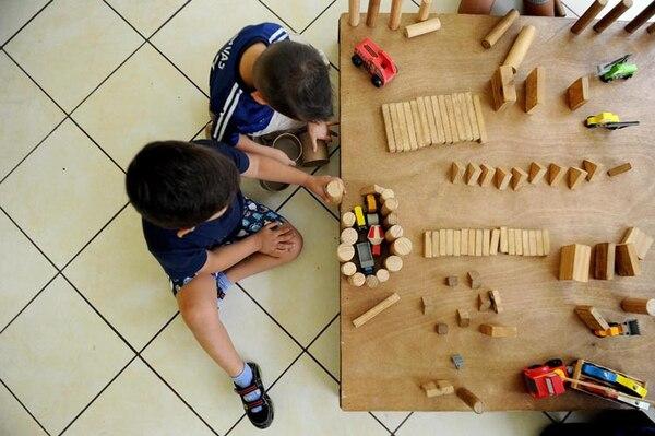 El Cecudi de San Juan de Dios, en Desamparados, es uno de los 29 en los que actualmente, además de cuido, se dan lecciones de preescolar.