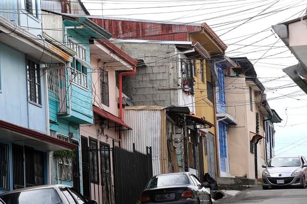 25/06/2019 Barrio Luján. Casas en mal estado: paredes, techos, ventanas, puertas... etc. Foto: Rafael Pacheco