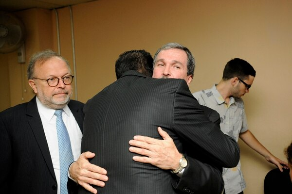 18/12/2017, Tribunales de Heredia, dictan sentencia contra el exmagistrado Óscar González, foto Rafael Murillo
