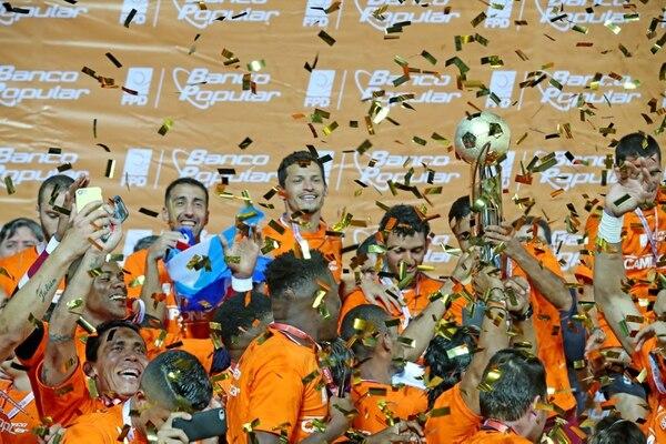 Saprissa fue campeón en el Clausura 2018 ante el Herediano. Fotografía: John Durán