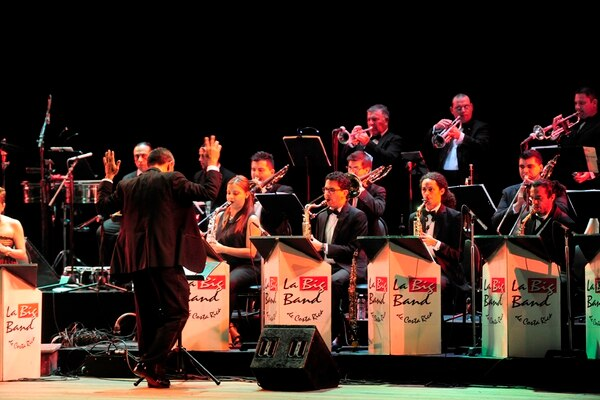 La orquesta Big Band de Costa Rica hará un recorrido por grandes éxitos de la música internacional. Foto: Archivo/Melissa Fernández.