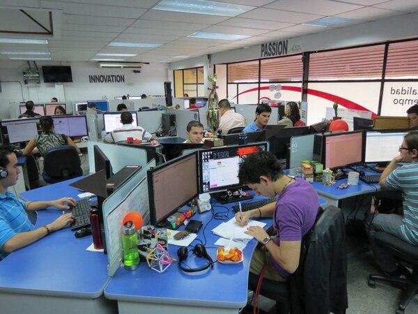 Avantica San Carlos es una de las pocas empresas locales de desarrollo de software que realiza actividades fuera de la Gran Área Metropolitana. Actualmente tiene 80 ingenieros, la mayoría de Ciudad Quesada. | CARLOS HERNÁNDEZ