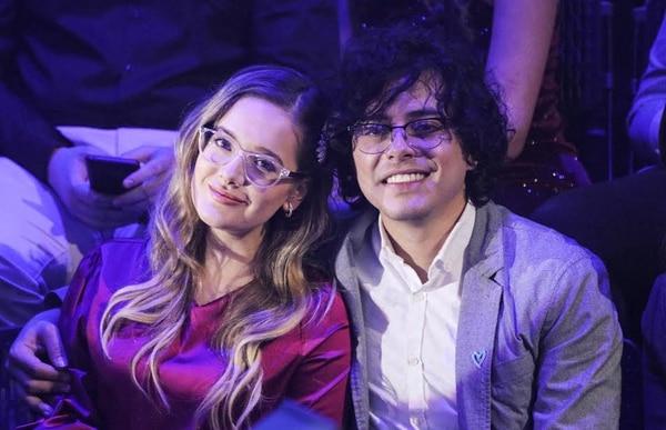 Una bonita pareja: la periodista de Canal 7, María Prada Picado y el músico Pedro Capmany. Foto Randall Rodríguez/Para Grupo Nación