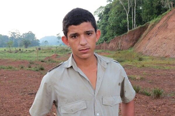 Rubén Valerio asegura que los soldados nicaragüenses le dieron un trato humillante. | CARLOS HERNÁNDEZ