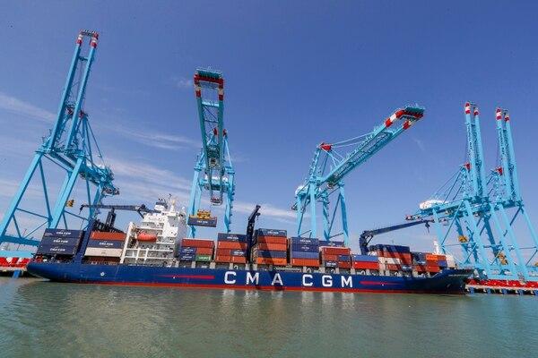 28/02/2019, Limón, inauguración de la terminal portuaría de APM Termináles. Fotografía José Cordero