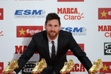 (Video) Lionel Messi recibe su cuarta Bota de Oro