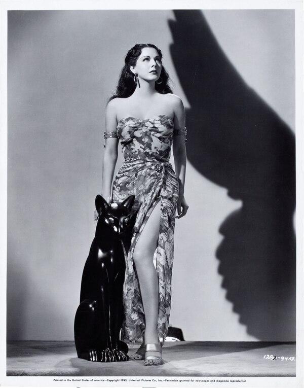 Actriz Maria Montez. Fotografía: Universal Pictures