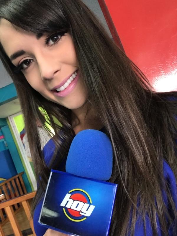 Maribel García trabajó ocho meses para el reconocido programa matutino 'Hoy' antes de comenzar en TUDN. Foto: Cortesía.