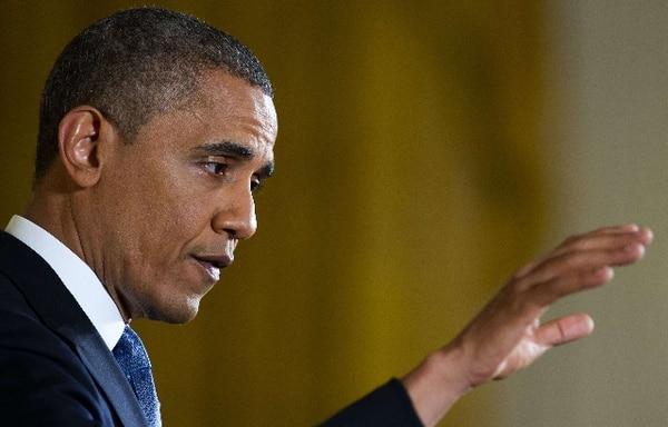 Obama señaló que se abrió una investigación sobre el caso, pero dijo que no haría