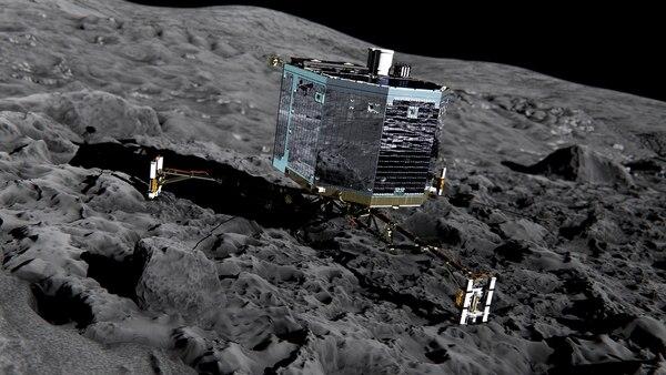 Philae no había dado señales de vida desde el 24 de junio.