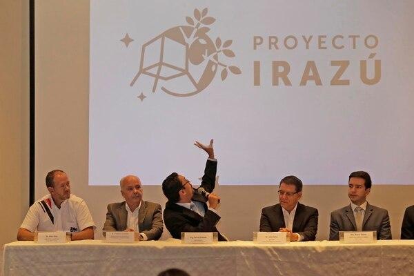Los últimos detalles sobre el proyecto Irazú, el primer satélite de Costa Rica, fueron revelados en conferencia de prensa,