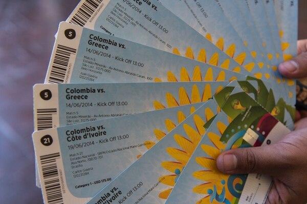 La red ilegal vendía las entradas VIP a 1.000 euros cada una. | AFP