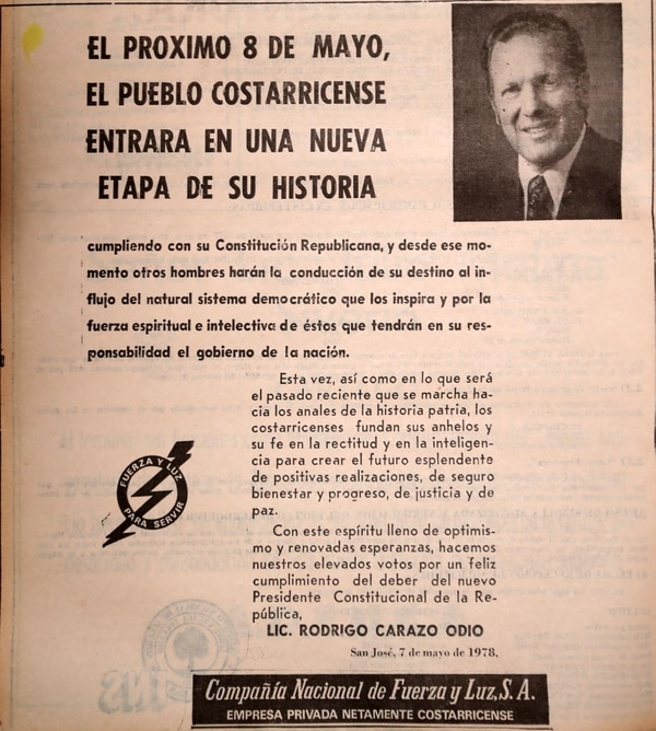 Anuncio publicado en La Nación el 7 de marzo de 1978. Reproducciones de archivo por Graciela Solís.