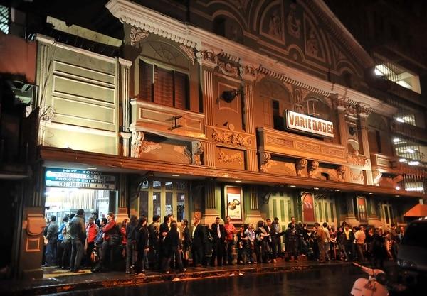 El Teatro Variedades se construyó en 1891, actualmente ofrece espectáculos de teatro y proyecciones cinematográficas.