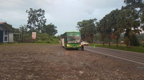 El bus en el que hallaron la droga se dirigía a Limón