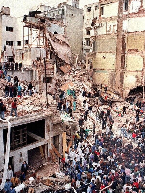 El atentado de 1994 en Buenos Aires dejó 85 muertos y 300 heridos. | AFP