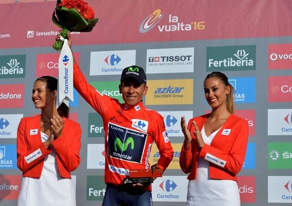 Quintana se mantiene al frente de la general después que el colombiano entrara en meta a 3:27. del ganador junto a su más inmediatos perseguidores: el británico Chris Froome (Sky), el español Alberto Contador (Tinkoff) y el también colombiano Esteban Chaves (Orica).