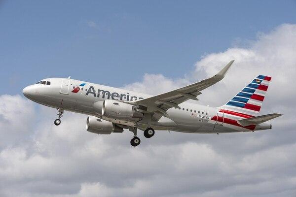 American Airlines envió un comunicado a sus clientes con un aviso del cambio.