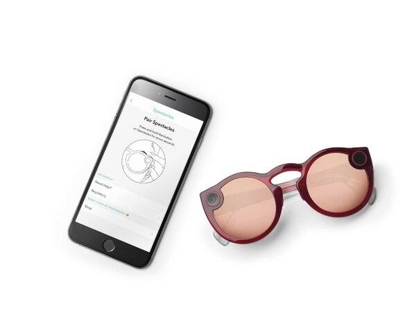 Estas son las nuevas gafas de Snap.