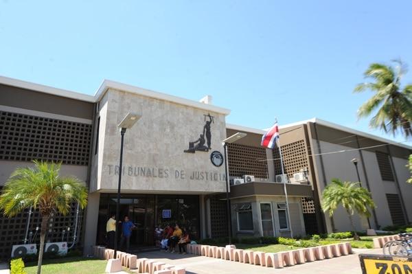 La sentencia fue dictada este martes en el Tribunal Penal de Puntarenas. Foto Jorge Castillo