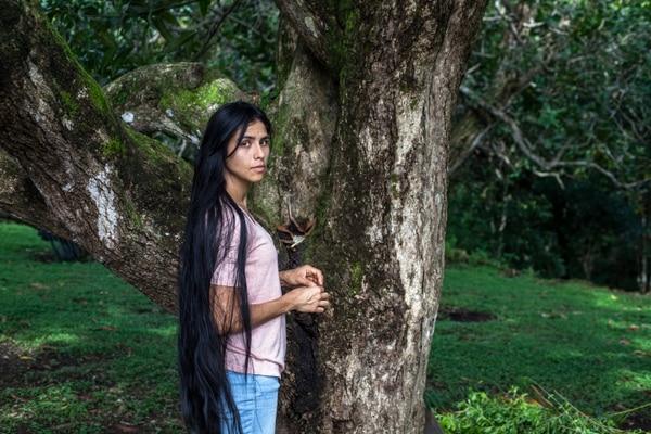 Daniela Valenciano es la protagonista de El despertar de las hormigas. Ella encarna a Isabel. Cortesía de Amaya Izquierdo