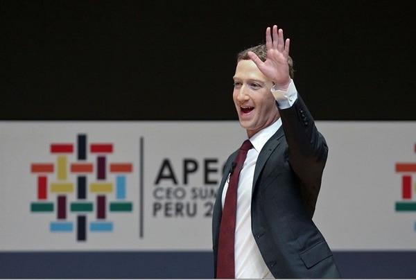 El fundador de Facebook, Mark Zuckerberg, hará una ponencia sobre el tema este domingo durante el Foro Económico Asia Pacífico (APEC) que se desarrolla en Lima.