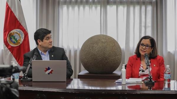 La ministra de Educación, Guiselle Cruz, asumió como jerarca del MEP en julio del 2019. Foto cortesía