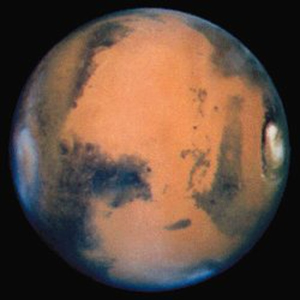 Identifican lugares de Marte donde hay agua helada