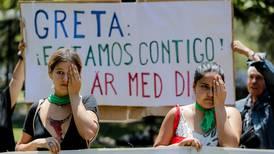 En pie de guerra, los jóvenes marchan en Madrid contra la inacción climática de los gobiernos