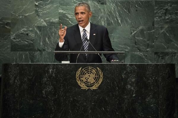 El presidente de Estados Unidos, Barack Obama, brindó este martes su último discurso ante la Asamblea de Naciones Unidas.