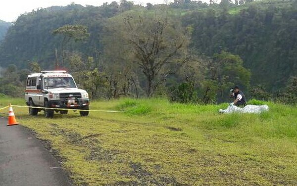 El cuerpo fue ubicado en Cariblanco de Alajuela.
