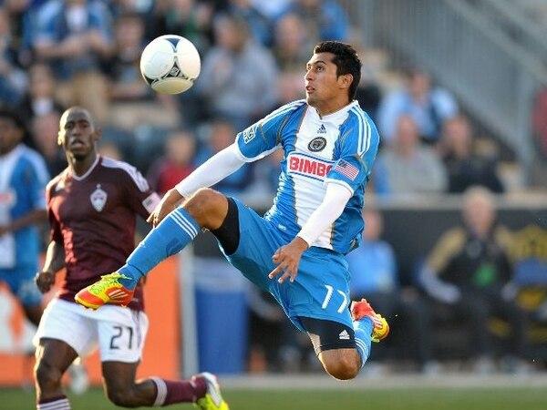 Josué Martínez anotó un único tanto en su paso por el Philadelphia Union la pasada temporada. | ARCHIVO