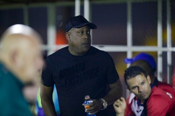 Hernán Medford dirige su segundo torneo con Cartaginés. Fotografía José Cordero