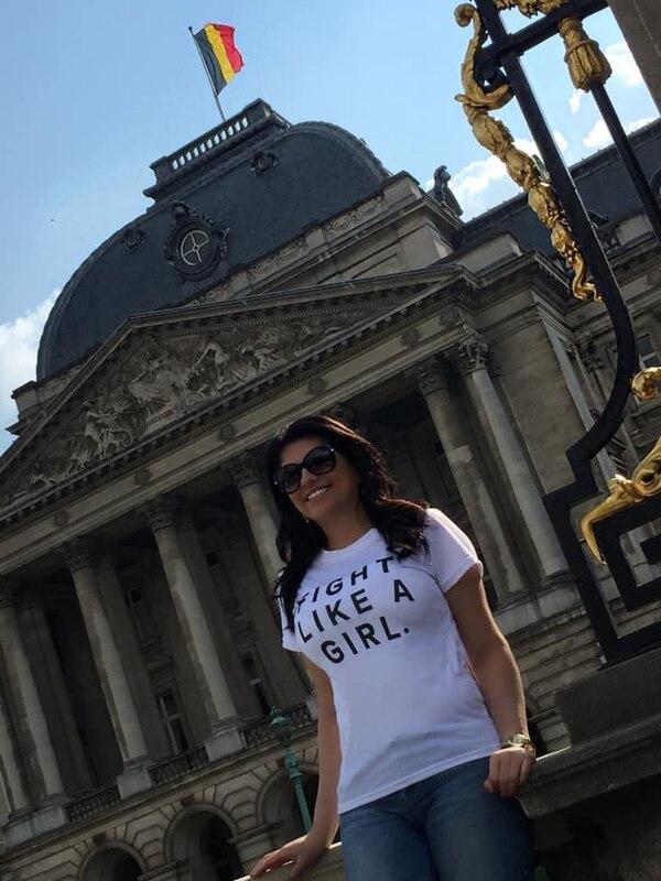 Rebecca Ugalde Varela vive en Bélgica desde febrero anterior.