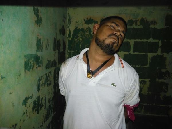 Alias Pelleja fue detenido en Tortuguero. Foto: Reiner Montero, corresponsal GN