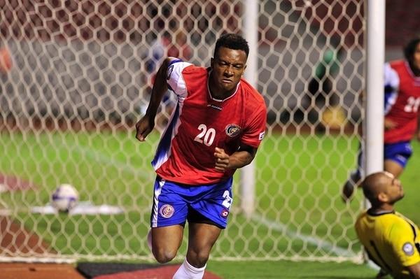 Rodney Wallace fue titular en el primer partido de la Copa Oro contra Cuba. | ARCHIVO