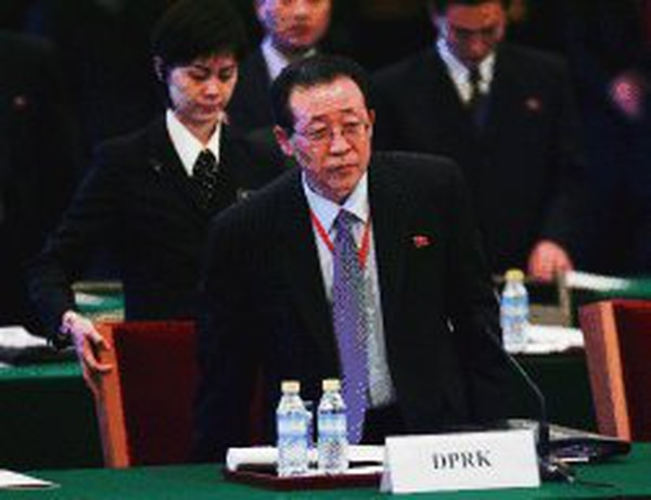 Kim Kye-gwan manifestó que si 'nos arrinconan y piden unilateralmente abandonar nuestras armas nucleares no vamos a tener ningún interés en las conversaciones'. Foto: Archivo LN
