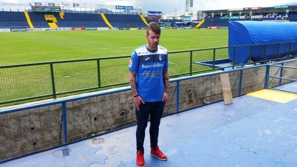 El atacante argentino Hernán Fener firmó por un año con Cartaginés.