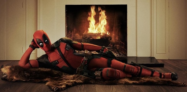 Así se ve Ryan Reynolds en su papel de Deadpool.